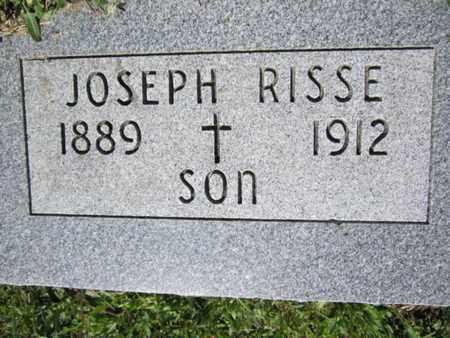 RISSE, JOSEPH - Cuming County, Nebraska | JOSEPH RISSE - Nebraska Gravestone Photos