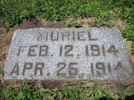 RISSE, MURIEL - Cuming County, Nebraska   MURIEL RISSE - Nebraska Gravestone Photos