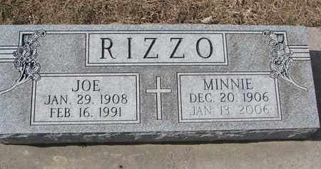 RIZZO, MINNIE - Cuming County, Nebraska | MINNIE RIZZO - Nebraska Gravestone Photos
