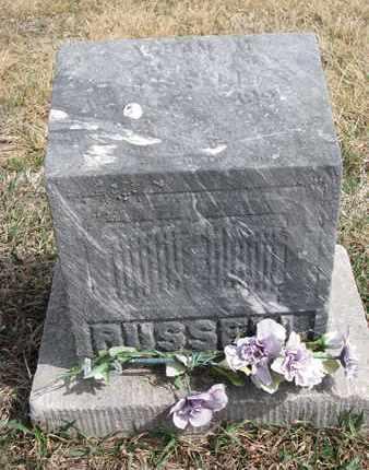RUSSELL, ALBAN M. - Cuming County, Nebraska | ALBAN M. RUSSELL - Nebraska Gravestone Photos