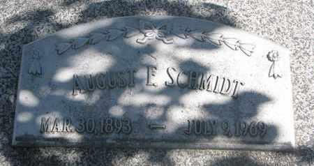 SCHMIDT, AUGUST F. - Cuming County, Nebraska | AUGUST F. SCHMIDT - Nebraska Gravestone Photos