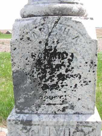 SCHMIDT, CARL H.A. (CLOSE UP) - Cuming County, Nebraska   CARL H.A. (CLOSE UP) SCHMIDT - Nebraska Gravestone Photos