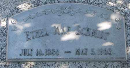 SCHMIDT, ETHEL MAE - Cuming County, Nebraska | ETHEL MAE SCHMIDT - Nebraska Gravestone Photos