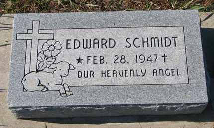 SCHMIDT, EDWARD - Cuming County, Nebraska | EDWARD SCHMIDT - Nebraska Gravestone Photos