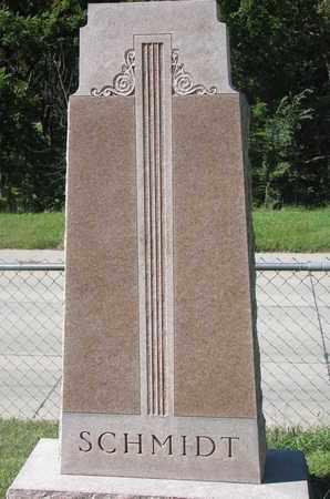SCHMIDT, (FAMILY MONUMENT) - Cuming County, Nebraska   (FAMILY MONUMENT) SCHMIDT - Nebraska Gravestone Photos