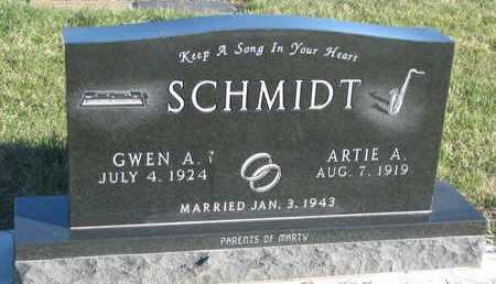 SCHMIDT, GWEN A. - Cuming County, Nebraska | GWEN A. SCHMIDT - Nebraska Gravestone Photos