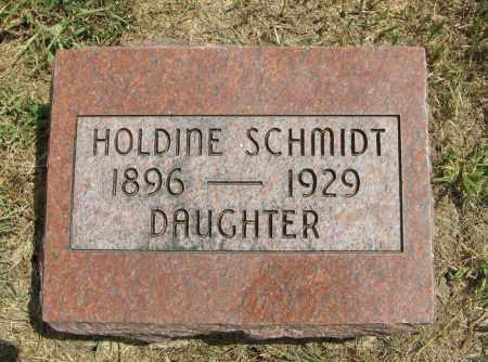 SCHMIDT, HOLDINE - Cuming County, Nebraska | HOLDINE SCHMIDT - Nebraska Gravestone Photos