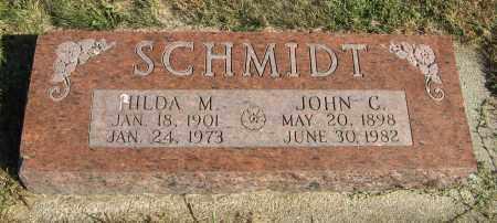 SCHMIDT, JOHN C. - Cuming County, Nebraska | JOHN C. SCHMIDT - Nebraska Gravestone Photos