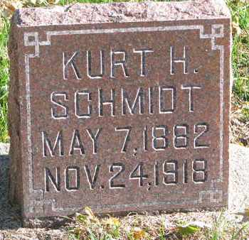 SCHMIDT, KURT H. - Cuming County, Nebraska | KURT H. SCHMIDT - Nebraska Gravestone Photos