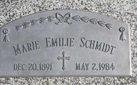 SCHMIDT, MARIE EMILIE - Cuming County, Nebraska   MARIE EMILIE SCHMIDT - Nebraska Gravestone Photos