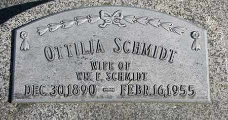 SCHMIDT, OTTILIA - Cuming County, Nebraska | OTTILIA SCHMIDT - Nebraska Gravestone Photos