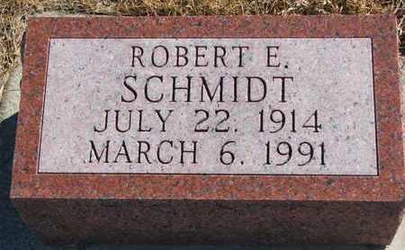 SCHMIDT, ROBERT E. - Cuming County, Nebraska | ROBERT E. SCHMIDT - Nebraska Gravestone Photos