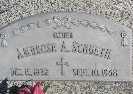 SCHUETH, AMBROSE A. - Cuming County, Nebraska | AMBROSE A. SCHUETH - Nebraska Gravestone Photos