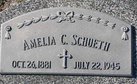 SCHUETH, AMELIA C. #2 - Cuming County, Nebraska | AMELIA C. #2 SCHUETH - Nebraska Gravestone Photos