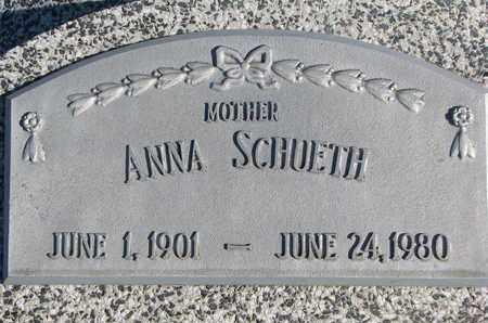 SCHUETH, ANNA - Cuming County, Nebraska | ANNA SCHUETH - Nebraska Gravestone Photos