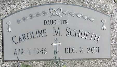 SCHUETH, CAROLINE M. - Cuming County, Nebraska | CAROLINE M. SCHUETH - Nebraska Gravestone Photos