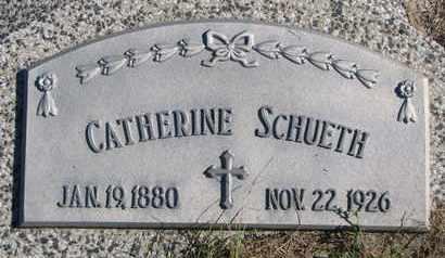 SCHUETH, CATHERINE #2 - Cuming County, Nebraska | CATHERINE #2 SCHUETH - Nebraska Gravestone Photos
