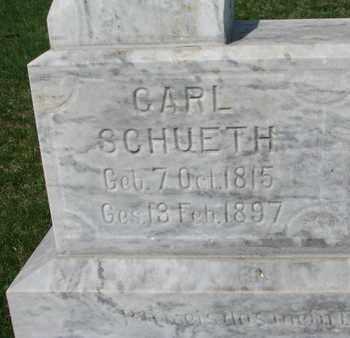 SCHUETH, CARL (CLOSE UP) - Cuming County, Nebraska   CARL (CLOSE UP) SCHUETH - Nebraska Gravestone Photos