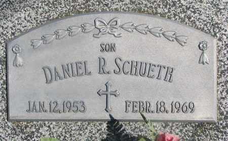 SCHUETH, DANIEL R. - Cuming County, Nebraska | DANIEL R. SCHUETH - Nebraska Gravestone Photos