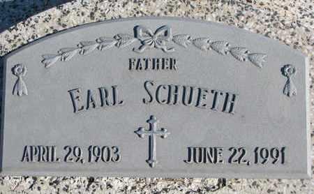 SCHUETH, EARL - Cuming County, Nebraska | EARL SCHUETH - Nebraska Gravestone Photos