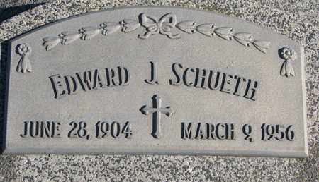 SCHUETH, EDWARD J. - Cuming County, Nebraska   EDWARD J. SCHUETH - Nebraska Gravestone Photos