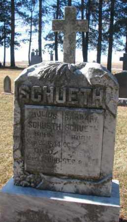 SCHUETH, JULIUS - Cuming County, Nebraska | JULIUS SCHUETH - Nebraska Gravestone Photos