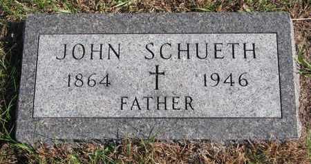 SCHUETH, JOHN - Cuming County, Nebraska | JOHN SCHUETH - Nebraska Gravestone Photos