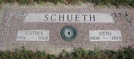 SCHUETH, JUSTINA - Cuming County, Nebraska | JUSTINA SCHUETH - Nebraska Gravestone Photos
