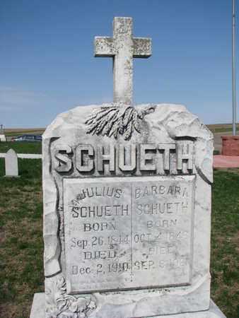 SCHUETH, BARBARA - Cuming County, Nebraska | BARBARA SCHUETH - Nebraska Gravestone Photos
