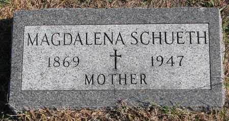 SCHUETH, MAGDALENA - Cuming County, Nebraska | MAGDALENA SCHUETH - Nebraska Gravestone Photos