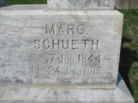 SCHUETH, MARGARETHA (CLOSE UP) - Cuming County, Nebraska | MARGARETHA (CLOSE UP) SCHUETH - Nebraska Gravestone Photos