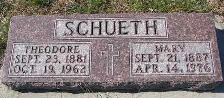 SCHUETH, THEODORE - Cuming County, Nebraska | THEODORE SCHUETH - Nebraska Gravestone Photos