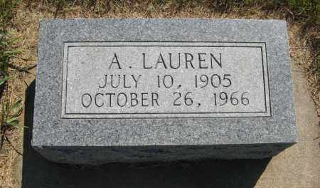 SCHWEDHELM, A. LAUREN - Cuming County, Nebraska | A. LAUREN SCHWEDHELM - Nebraska Gravestone Photos