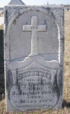 SCHWEDHELM, JOHANNES - Cuming County, Nebraska | JOHANNES SCHWEDHELM - Nebraska Gravestone Photos