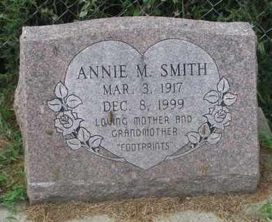 SMITH, ANNIE M. - Cuming County, Nebraska | ANNIE M. SMITH - Nebraska Gravestone Photos