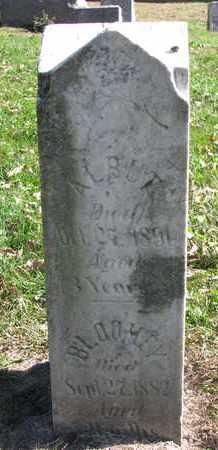 SMITH, BLOOMEY - Cuming County, Nebraska   BLOOMEY SMITH - Nebraska Gravestone Photos