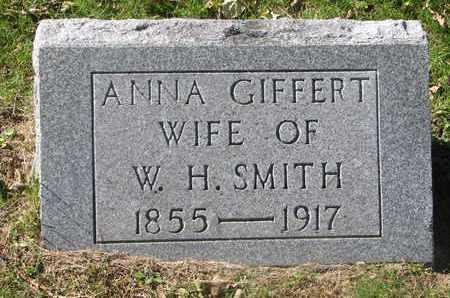 SMITH, ANNA - Cuming County, Nebraska | ANNA SMITH - Nebraska Gravestone Photos
