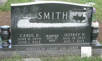 SMITH, CAROL D. - Cuming County, Nebraska | CAROL D. SMITH - Nebraska Gravestone Photos