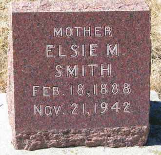 SMITH, ELSIE M. - Cuming County, Nebraska | ELSIE M. SMITH - Nebraska Gravestone Photos