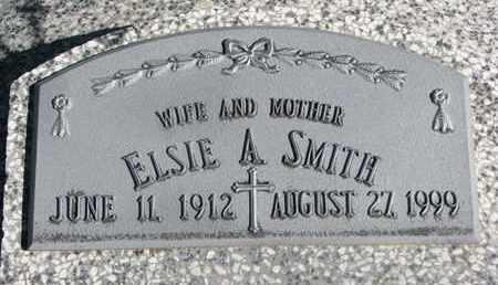 SMITH, ELSIE A. - Cuming County, Nebraska | ELSIE A. SMITH - Nebraska Gravestone Photos
