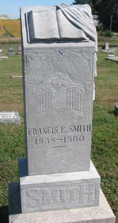 SMITH, FRANCIS E. - Cuming County, Nebraska | FRANCIS E. SMITH - Nebraska Gravestone Photos