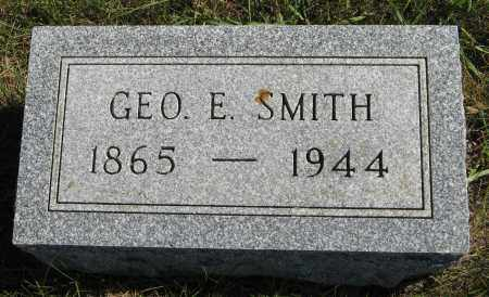SMITH, GEO E. - Cuming County, Nebraska | GEO E. SMITH - Nebraska Gravestone Photos