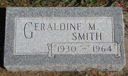 SMITH, GERALDINE M. - Cuming County, Nebraska | GERALDINE M. SMITH - Nebraska Gravestone Photos