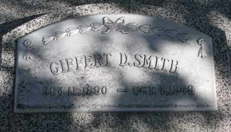 SMITH, GIFFERT D. - Cuming County, Nebraska   GIFFERT D. SMITH - Nebraska Gravestone Photos
