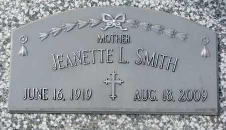SMITH, JEANETTE L. - Cuming County, Nebraska | JEANETTE L. SMITH - Nebraska Gravestone Photos