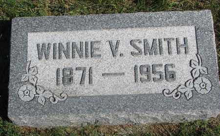 SMITH, WINNIE V. - Cuming County, Nebraska | WINNIE V. SMITH - Nebraska Gravestone Photos