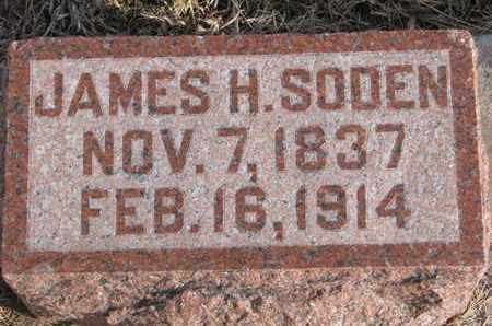 SODEN, JAMES H. - Cuming County, Nebraska | JAMES H. SODEN - Nebraska Gravestone Photos