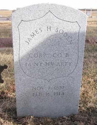 SODEN, JAMES H. (MILITARY) - Cuming County, Nebraska | JAMES H. (MILITARY) SODEN - Nebraska Gravestone Photos