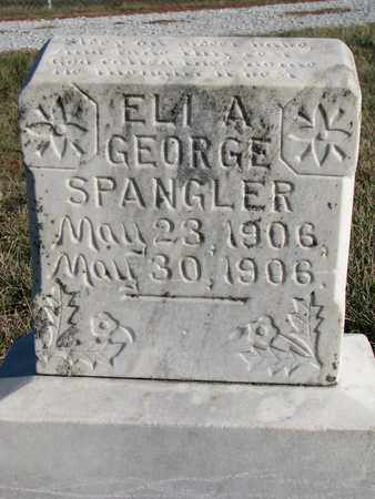 SPANGLER, ELI A. - Cuming County, Nebraska   ELI A. SPANGLER - Nebraska Gravestone Photos