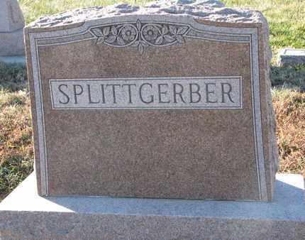 SPLITTGERBER, (FAMILY MONUMENT) - Cuming County, Nebraska   (FAMILY MONUMENT) SPLITTGERBER - Nebraska Gravestone Photos